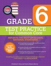 Grade 6, Test Practice for Common  Core