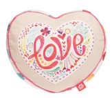 Love Affirmation Pillow, Heart