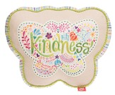 Kindness Affirmation Pillow, Butterfly