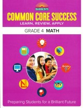 Barron's Common Core Success: Math, Grade 4