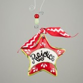 Rejoice Star Puff Ornament