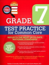 Grade 7, Test Practice for Common Core