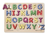 Alphabet Sound Puzzle, Spanish