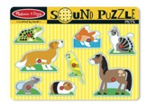 Pets Sound Puzzle, 8 pieces