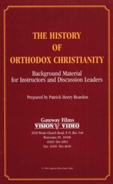 The History of Orthodox Christianity -DVD