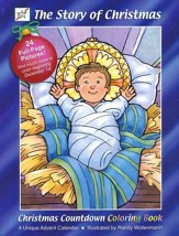 The Story of Christmas, Christmas Advent Coloring Book