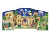 Bethlehem Nativity Free Standing Advent Calendar