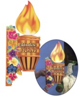 Discovery on Adventure Island: Decorating Wall Torch