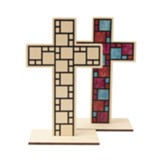 Discovery on Adventure Island: Wooden Tabletop Cross, pack of 12