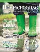 Homeschooling Today Magazine, 1 Year USA Subscription