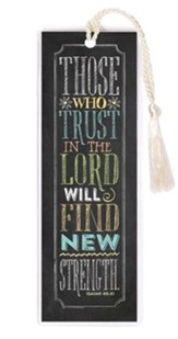 Those Who Trust In the Lord Bookmark