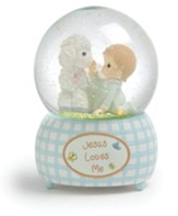 Jesus Loves Me, Boy, Musical Water Globe