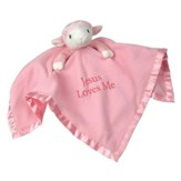 Precious Moments ™ Lamb Plush Blanket, Pink