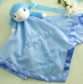 Precious Moments ™ Lamb Plush Blanket, Blue