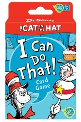 Dr. Seuss, The Cat in the Hat I Can Do That! Card Game