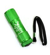 Personalized Flashlight, Eagle, Green