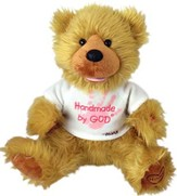 Plush Bear Handmade by God Pink Shirt