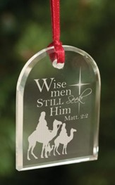 Wise Men Still Seek Him, Crystal Ornament