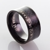 Hope & Future, Men's Stainless Steel Ring, Size 11