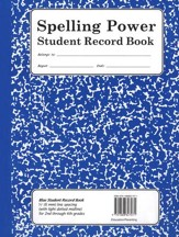 Spelling Power Blue Student Record Book, Grades 2-4