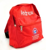Personalized, God's Team, Kids Backpack