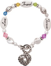 Love, Friend, Forever Bracelet