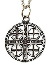 Episcopal Service Cross, Pewter
