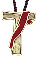 Tau Deacon Cross, Red Sash