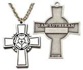 I Am Lutheran Cross
