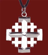 Stainless Steel Jerusalem Cross