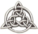 Circle Of Life Trinity Knot Pin