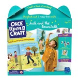 Jack and the Beanstalk Book and Craft Set