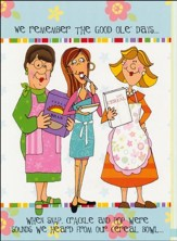 Unrestrained: Church Kitchen Ladies Birthday Cards, KJV/12