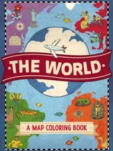 The World: A Map Coloring Book