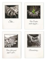 Hands, Sympathy Cards, Box of 12