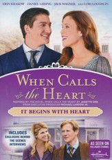 When Calls the Heart: It Begins With Heart, DVD