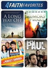 4 Faith Favorites: A Long Way Off, Rumors of War, The Perfect Summer, and My Name Is Paul