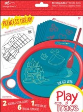 Boogie Board Play & Trace Activity Pack, Princess Dream