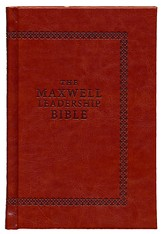 NIV Maxwell Leadership Bible, Briefcase Edition--hardcover