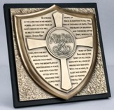 Full Armor of God Sculpture Plaque