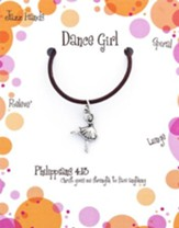 Dance Necklace, Philippians 4:13