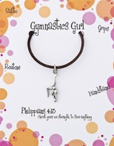 Gymnastics Necklace, Philippians 4:13