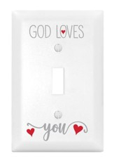 God Loves You, Light Switch Cover
