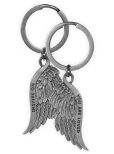 You Are Loved, Feather Keyring