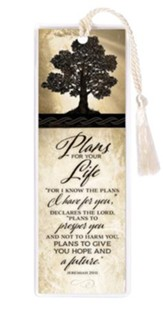 Plans For Your Life Bookmark