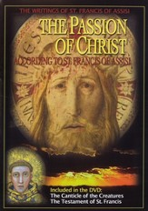 The Passion of Christ: According to St. Francis of Assisi, DVD