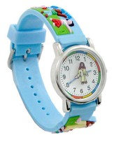 Jesus and the Children, Child's Watch, Blue