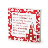 Church, God Showed His Love - Plaque