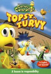 The Adventures of Carlos Caterpillar: Topsy-Turvy, DVD