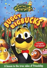 The Adventures of Carlos Caterpillar: Buggy Bigbucks, DVD